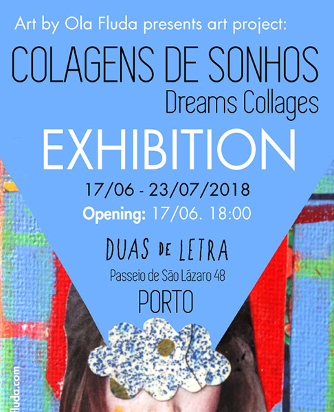 Exhibition , Collage , Duas de Letra